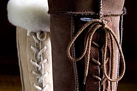 lace-up ugg boots
